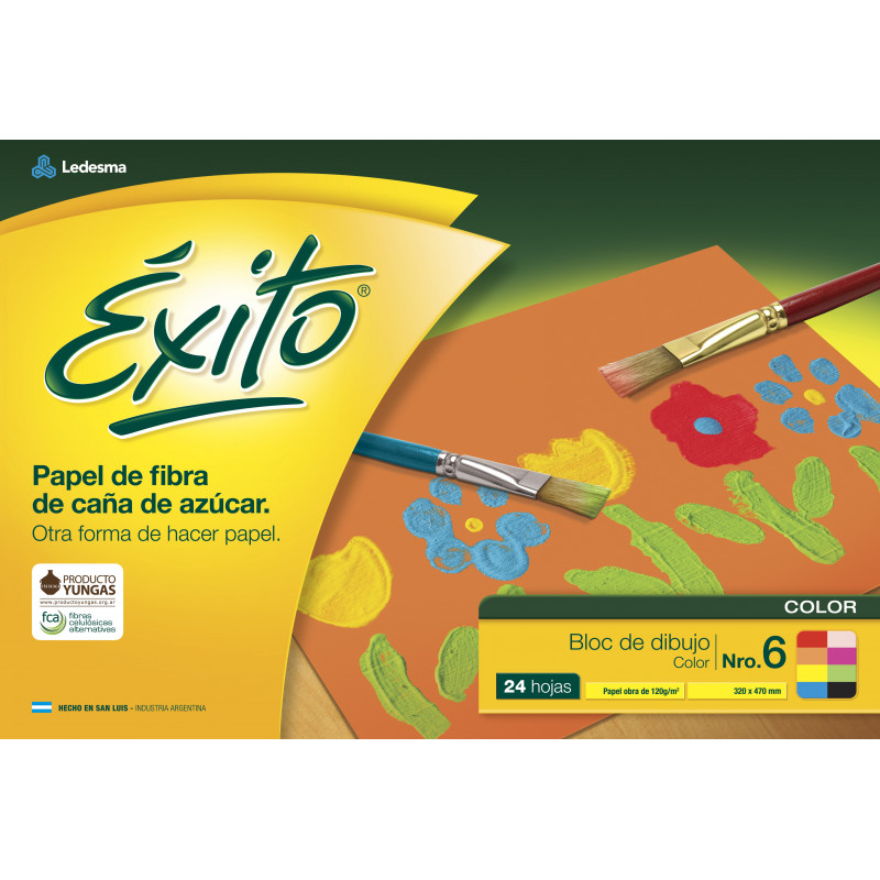 Block de dibujo El Nene Nº6 Color