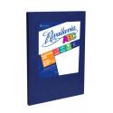 Cuaderno Rivadavia 50 hojas Forrado Araña Celeste