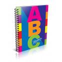 Cuaderno Rivadavia ABC Espiralado 100 hojas rayado
