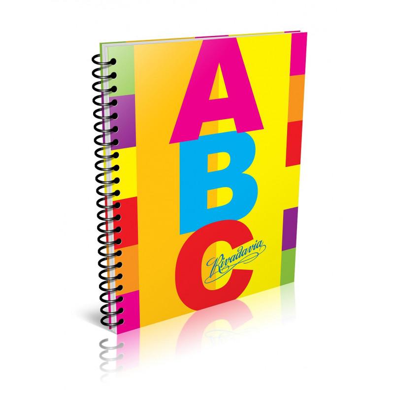 Cuaderno Rivadavia ABC Espiralado 60 hojas rayado