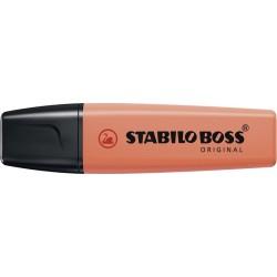 Resaltador Stabilo Boss Pastel Coral