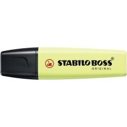 Resaltador Stabilo Boss Pastel Lima