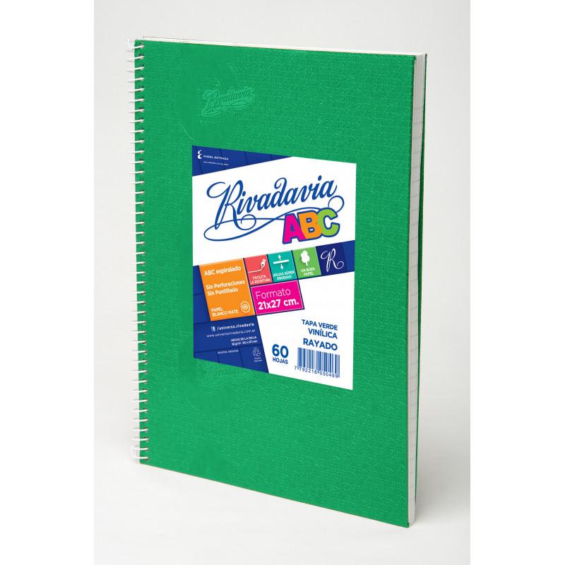 Cuaderno Laprida 50 hojas. Forrado Araña Cuadriculado