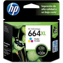 Cartucho HP 664XL Color