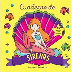 Cuaderno de Sirenas para colorear