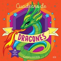 Cuaderno de Dragones para colorear