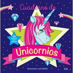 Cuaderno de Unicornios para colorear