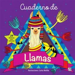 Cuaderno de Llamas para colorear