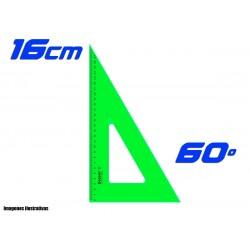 Escuadra Dozent 16cm Cateto 60º
