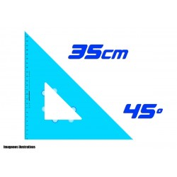 Escuadra Plantec 35cm Hipotensa 45º