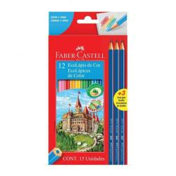 Lapices de colores Faber Castell x12