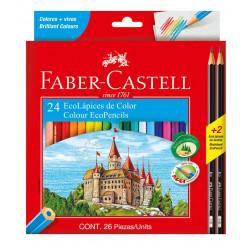Lapices de colores Faber Castell x24