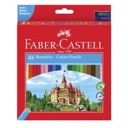 Lapices de colores Faber Castell x48