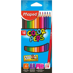 Lapices de colores Maped Colors Peps x12