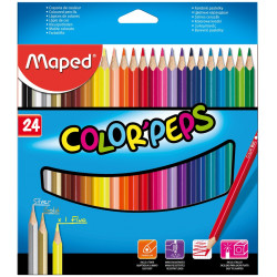 Lapices de colores Maped Colors Peps x24