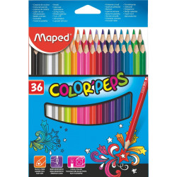 Lapices de colores Maped Colors Peps x36