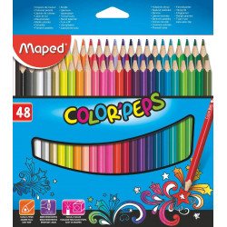 Lapices de colores Maped Colors Peps x48