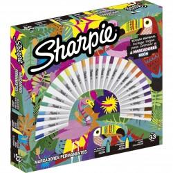 Marcadores Sharpie x30 Tropical