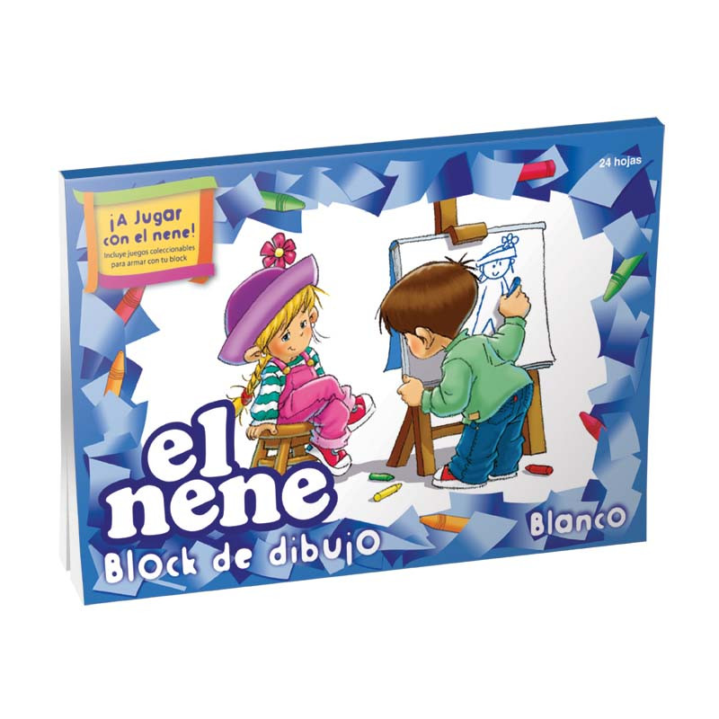 Block de dibujo Éxito Blanco Nº6
