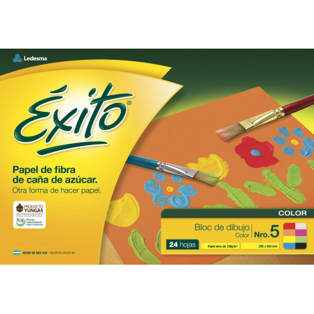 Block de dibujo El Nene Nº5 Color
