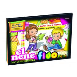 Block El Nene Fantasía Fluo Nº5