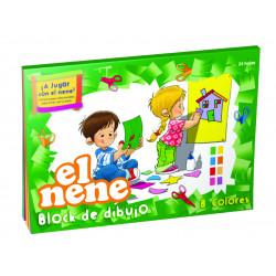Repuesto de dibujo El Nene Nº5 Blanco