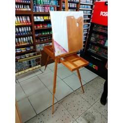 Atril De Pie Stationery Tripode 85 Cm Con Caja