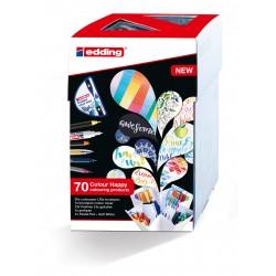 Marcadores Edding Colour Happy Set x69