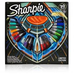 Marcadores Sharpie Ruleta Galaxy x36