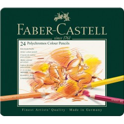 Lapices Faber Castell Polycrhomos x24