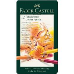 Lapices Faber Castell Polycrhomos x12