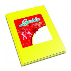 Cuaderno Laprida Araña 50 Hojas Amarillo 16x21cm Rayado