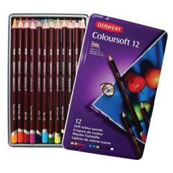 Lapices Derwent Coloursoft x12