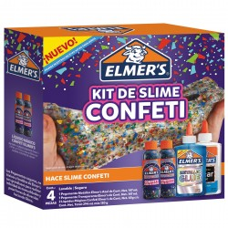 Kit Elmer´s Slime Confetti 4pcs