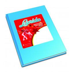 Cuaderno Laprida Araña 50 Hojas Celeste 16x21cm Rayado