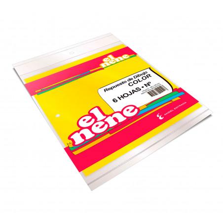 Cuaderno Éxtio 50 Hojas Araña Amarillo