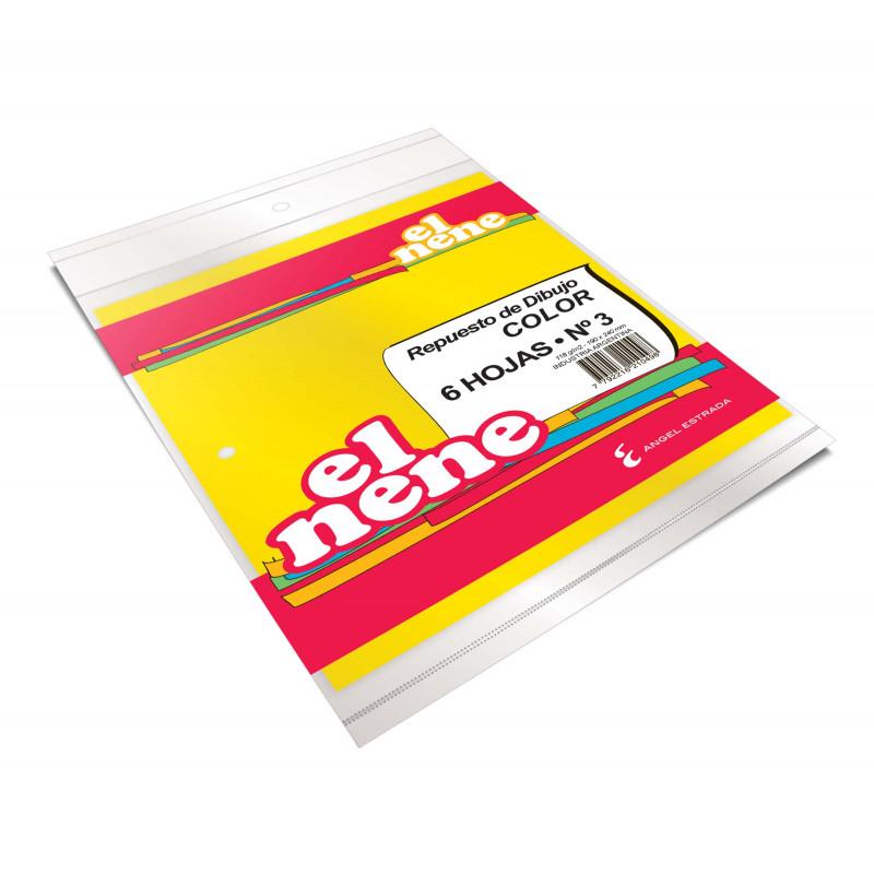 Cuaderno Éxtio 50 Hojas Araña Celeste