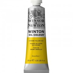 Oleo Winton Winsor & Newton 37 ml Cromo Amarillo