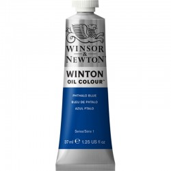 Oleo Winton Winsor & Newton 37 ml Azul Ftalo (516)