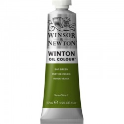 Oleo Winton Winsor & Newton 37 ml Verde Vejiga (599)