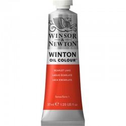 Oleo Winton Winsor & Newton 37 ml Laca Escarlata (603)