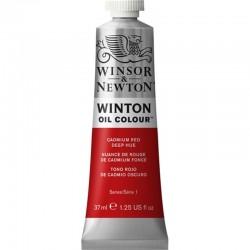 Oleo Winton Winsor & Newton 37 ml Rojo de Cadmio Oscuro...