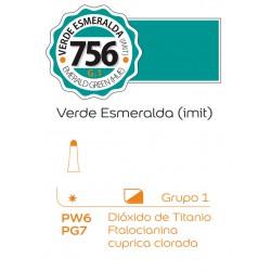 Tempera Profesional Alba 18ml Verde Esmeralda