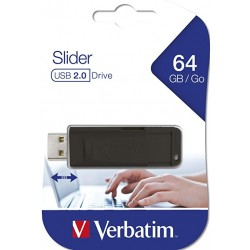 Pendrive Verbatim 64GB Slider