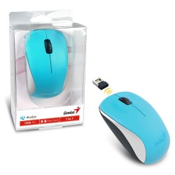 Mouse Inalambrico Genius NX-7000 Celeste