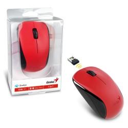 Mouse Inalambrico Genius NX-7000 Rojo