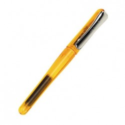 Lapicera Pluma Faber Castell Naranja Translucido