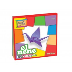 Block El Nene Origami 30x30cm