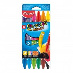 Pasteles al Oleo Maped Color Peps x12