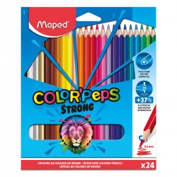 Lapices Maped Color Peps Strong x24